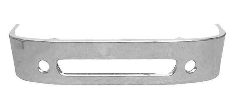 Freightliner Columbia Bumper Steel Chrome 18 in. - Big Truck Hoods