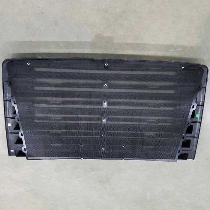Freightliner 114SD OEM Take Off Grill 6 Louvers With Winter Front Snaps and NO Chrome - Big Truck Hoods