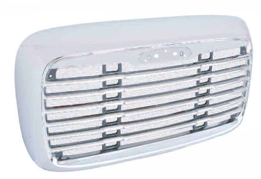 Freightliner Columbia Grill With Bugscreen with Attachment Kit - Big Truck Hoods
