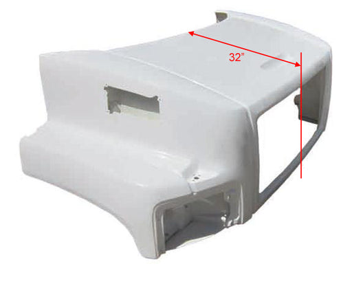 GMC 6500 / 7500 / 8500 New Aftermarket Hood - Big Truck Hoods