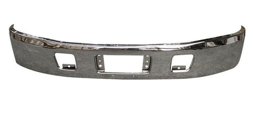 Hino 238, 258, 268, 338 New Aftermarket Bumper 2010 & Newer Steel Chrome - Big Truck Hoods