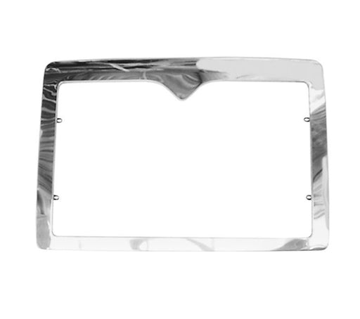 International 9200 / 9400 New Aftermarket Late Model Stainless Steel Grill Surround - Big Truck Hoods