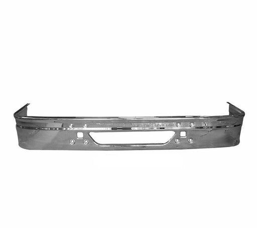 International 9200 / 9400 Bumper New Aftermarket Steel Chrome (1997 & Newer) 730C - Big Truck Hoods