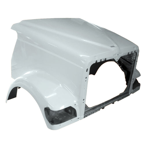 International 9900 Hood Early with Straight Cowl External Air - Big Truck Hoods