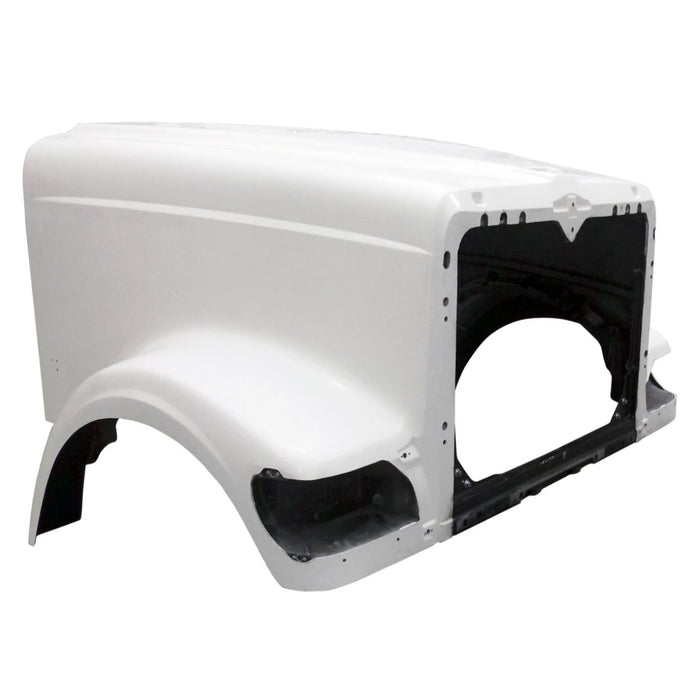 International 9900 Hood Early with Straight Cowl Internal Air - Big Truck Hoods
