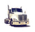 Kenworth T-680 Steal Chrome Bumper - Big Truck Hoods