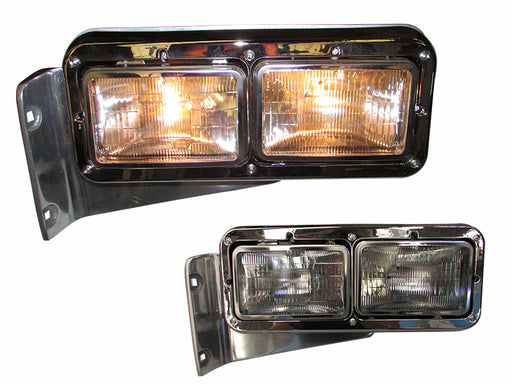 Peterbilt 379 Headlight Assembly w/Halogen Light LH - Big Truck Hoods
