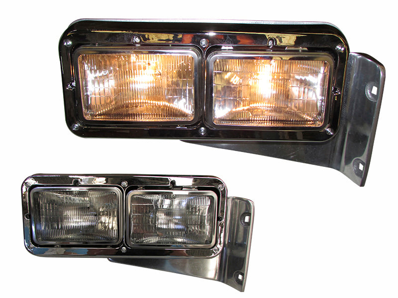 Peterbilt 379 Headlight Assembly w/Halogen Light RH - Big Truck Hoods