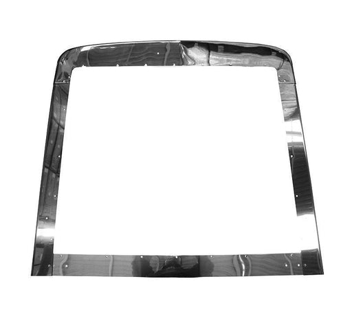 Peterbilt 379 Extended  Modified Stainless Steel Grill Trim Set. - Big Truck Hoods