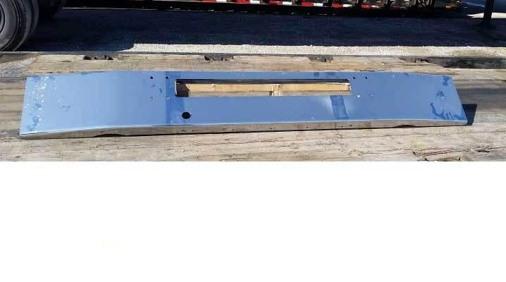 Peterbilt 320 Steel Chrome Bumper U320 - Big Truck Hoods