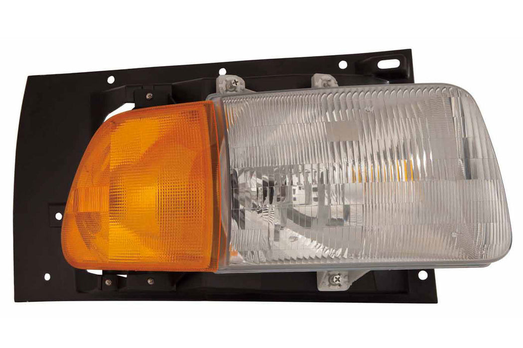 Sterling AT Series Headlight Assembly Composite RH Passenger Side - Big Truck Hoods