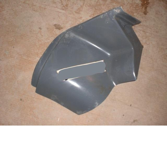 International 9400 Early Drivers Side Hood Extension - Big Truck Hoods