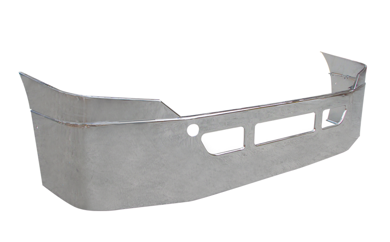 Freightliner Cascadia Bumper Steel Chrome New Aftermarket