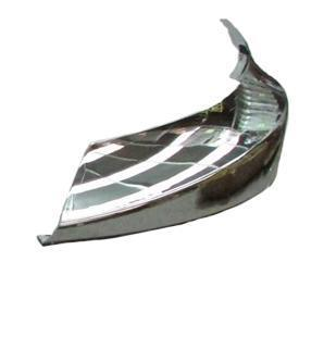 International ProStar SS Clad Alumium    Bumper Filler Panel Chrome Left Hand - Big Truck Hoods