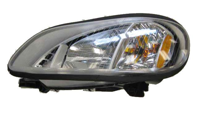 Freightliner M2 106 112 Headlight Assembly RH New OEM Cosmetic Blemished - Big Truck Hoods