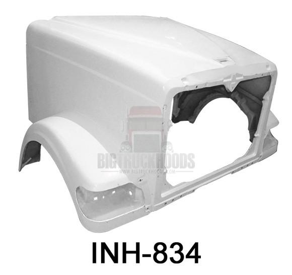 International 9900I Hood 124BBC - Big Truck Hoods