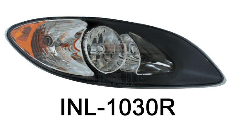 International Prostar Passenger Side Headlight Assembly - Big Truck Hoods