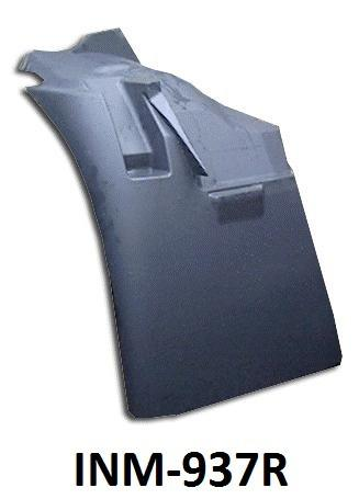 International 4300 Passenger Side Fender Extension - Big Truck Hoods