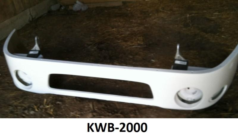 Kenworth T-2000 Fiberglass Bumper Center - Big Truck Hoods