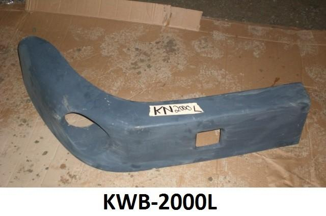 Kenworth T-2000 Fiberglass Drivers Side Air Dam - Big Truck Hoods