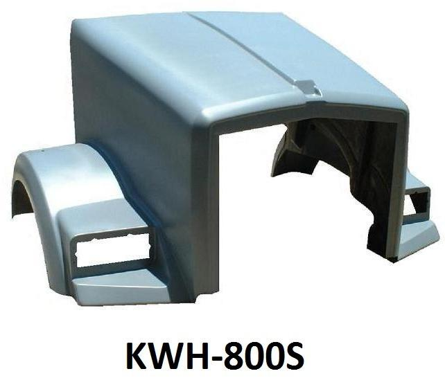 Kenworth T800 Short Hood - Big Truck Hoods