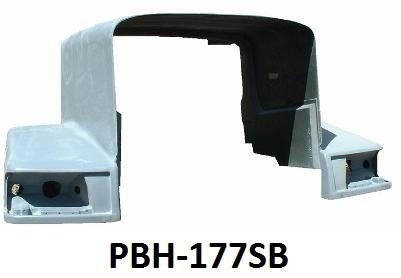 Peterbilt 377 Set Back Axle Hood - Big Truck Hoods