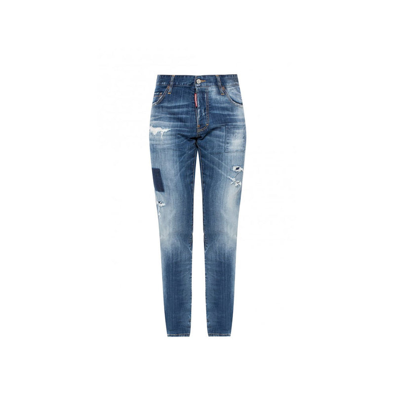 DSQUARED2 jeans- distressed/patch