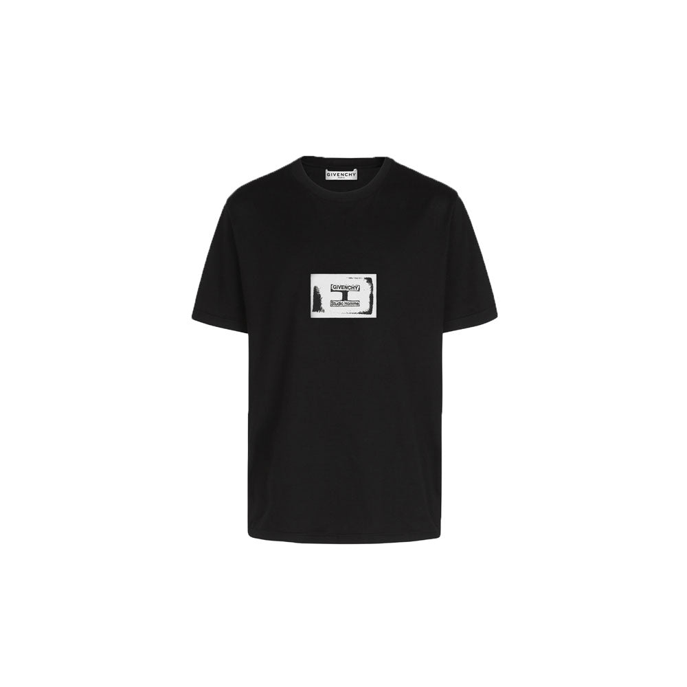 GIVENCHY Tshirt • Black/White box logo