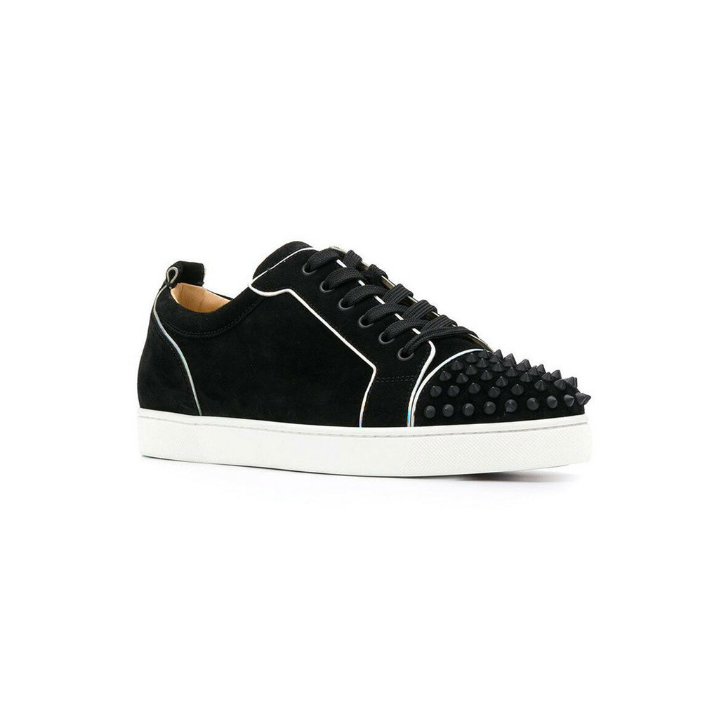 CHRISTIAN LOUBOUTIN - Black Silver Trim
