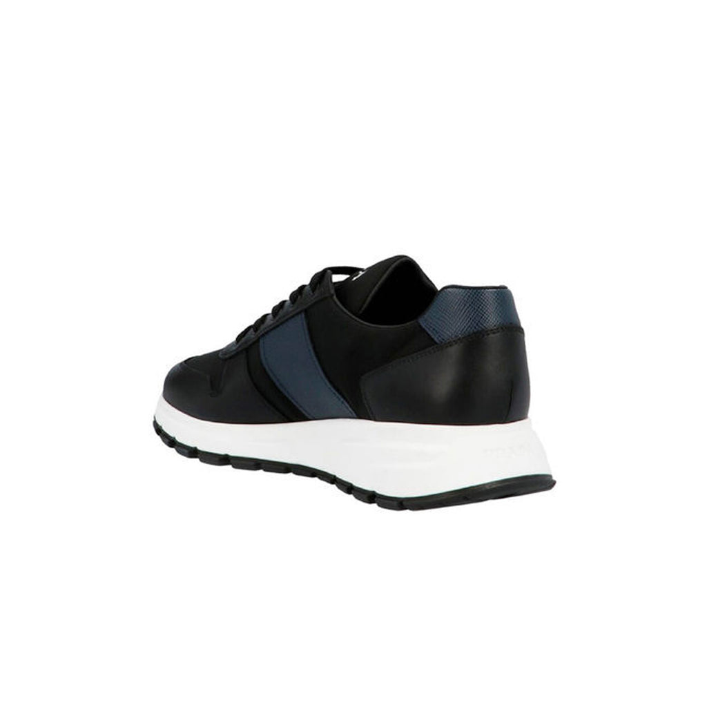 PRADA Trainers - navy/black and white