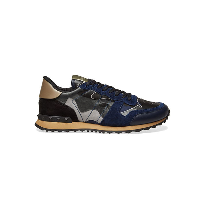 VALENTINO Rock Stud Runners - Navy/Blue