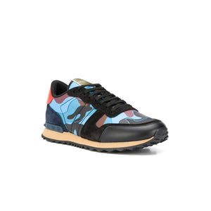 VALENTINO Rock Stud Runners - Blue Orange