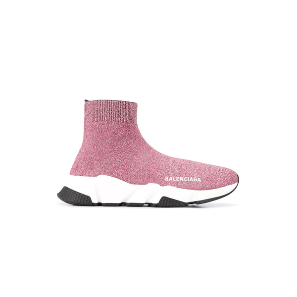 BALENCIAGA Speed Runners - Pink Sparkle