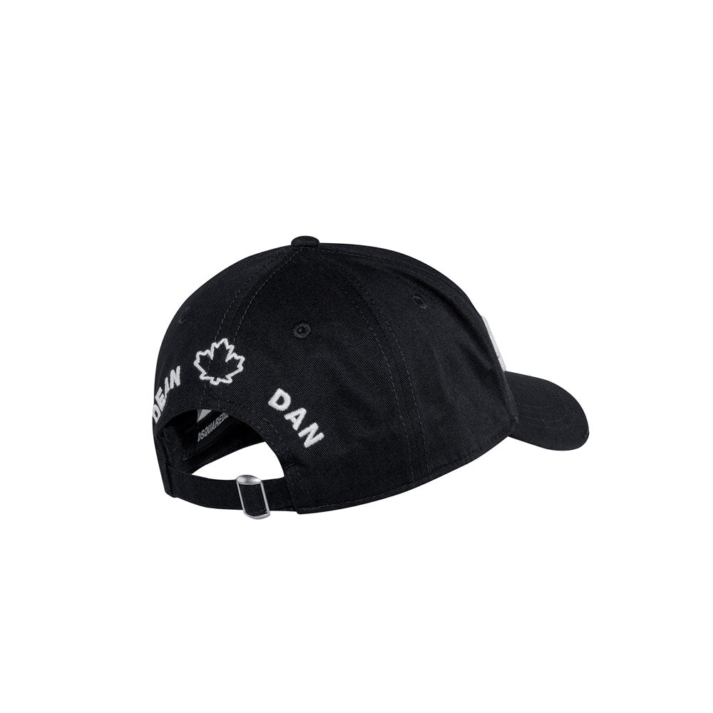 Dsquared cap - black double logo