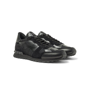 VALENTINO Rock Stud Runners - Triple Black