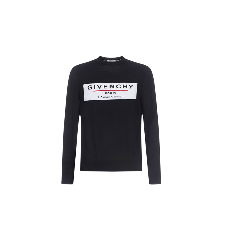 GIVENCHY sweatshirt- Black/white/red