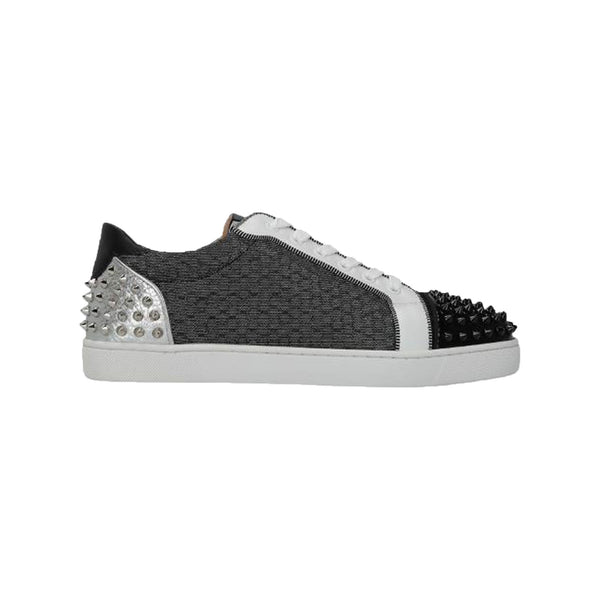 CHRISTIAN LOUBOUTIN - black silver grey