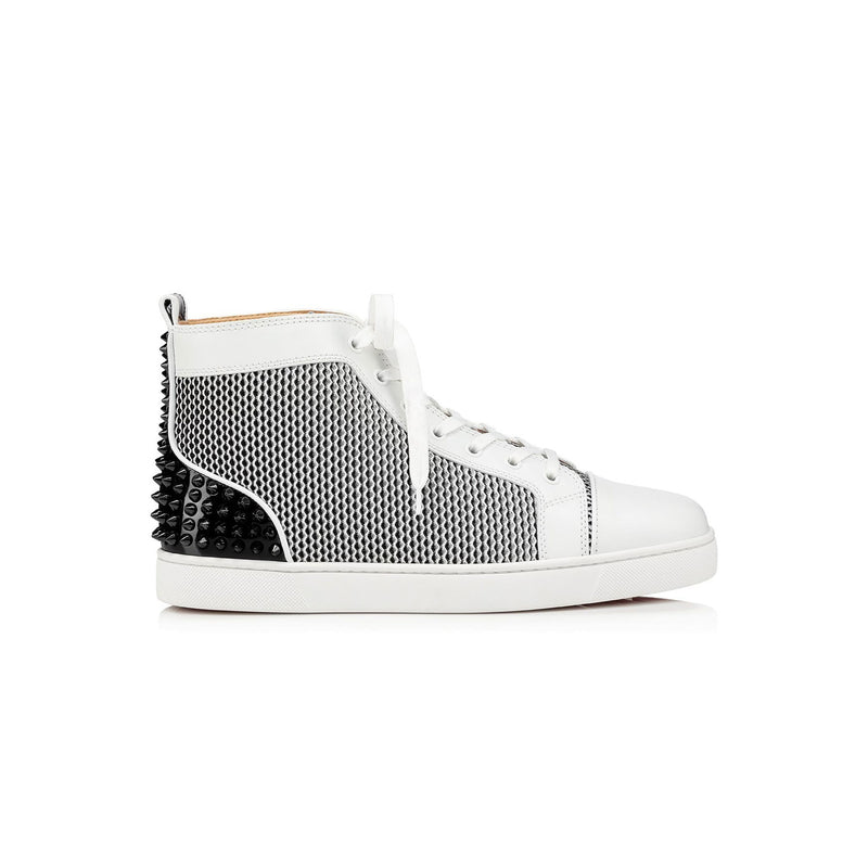 CHRISTIAN LOUBOUTIN - High Top White Black