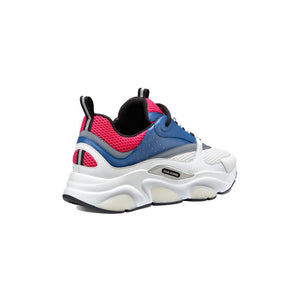 Christian Dior B22 Runners • White/Pink/Blue