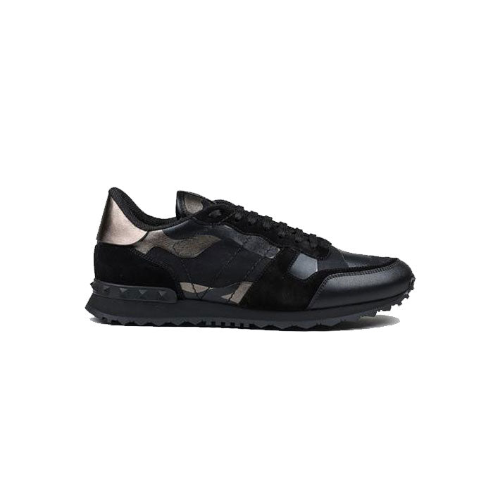 VALENTINO Rock Stud Runners - Black Bronze