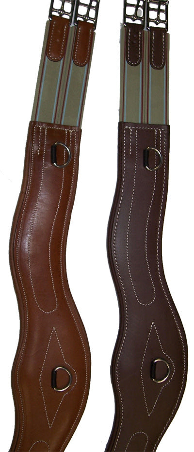 Santa Cruz Anatomic Girth with Soft Padded Leather