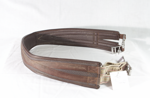 "50"" Synthetic Brown Girth"