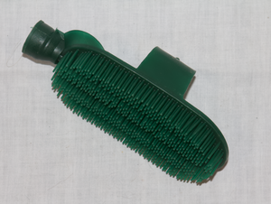 Green mane & tail brush with hose attachment