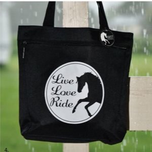 Live, Love, Ride Tote