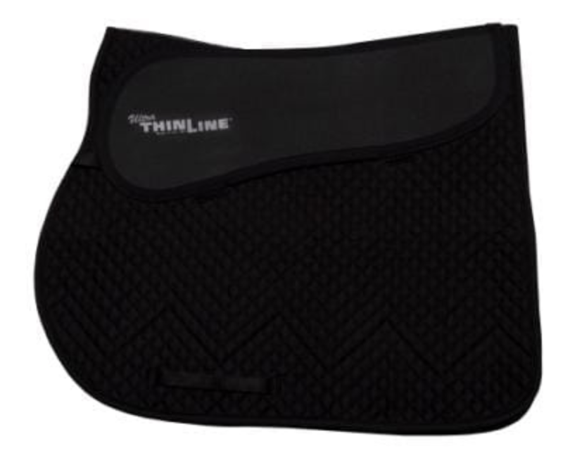 ThinLine Close Contact Cotton Quilted Saddle Pad
