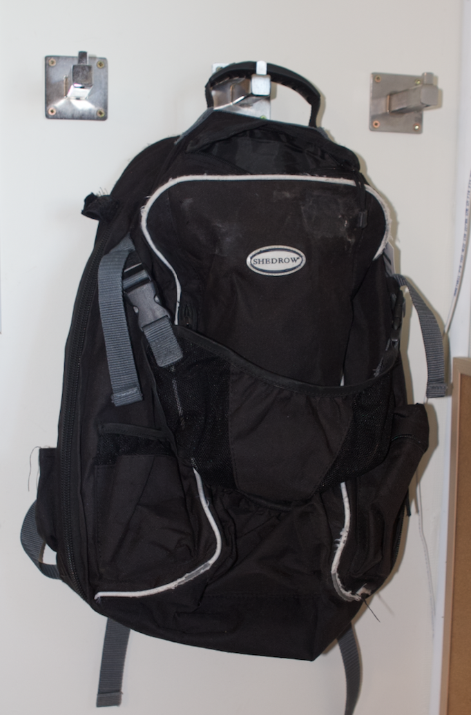 Shedrow backpack
