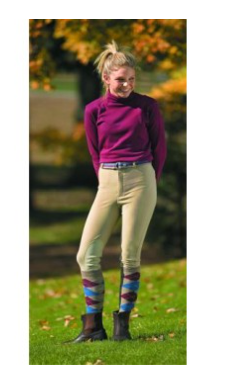Tuff Rider Childs Ribbed KP Breech