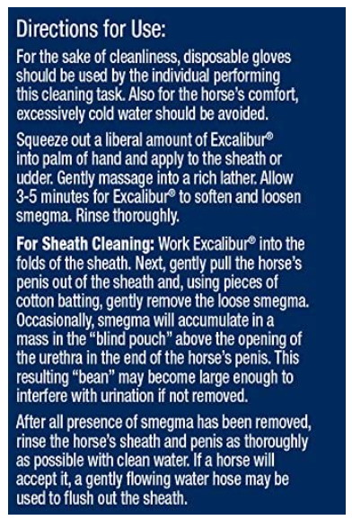 Farnam Excalibur Sheath Cleaner 475ml
