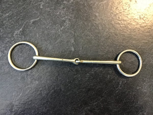 "5"" loose ring snaffle"