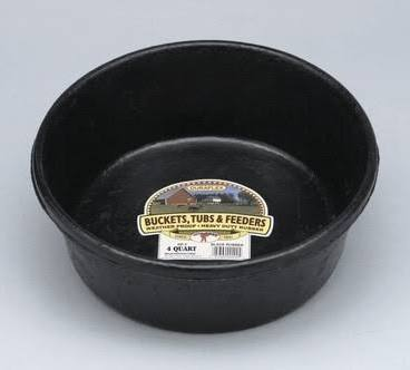 DuraFlex 4 Quart Rubber Feed Pan